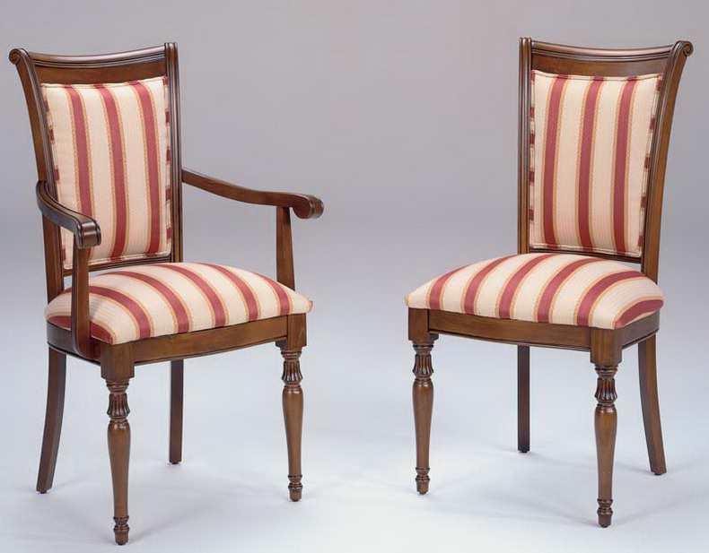 Sillones sillas l nea cl sica ingles for Sillas clasicas tapizadas